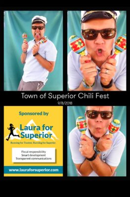 Trustee_Mark_At_Town_Chili_Fest_Photo_Booth